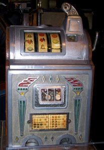 Oude casino gokkast